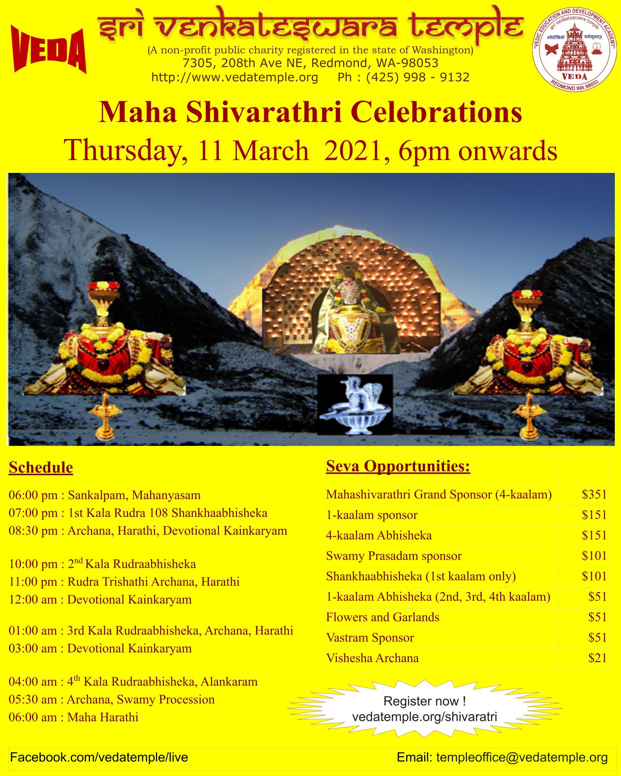 MahaShivarathri 2021