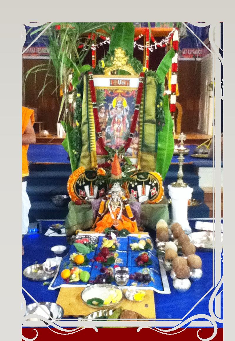 Sri Satyanarayana Swamy Pooja