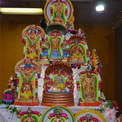 Veda Temple Navrathri Golu 2015