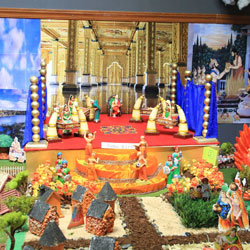 Navarathri Golu 2017 - Ramayanam - 7 Kaandas