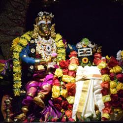 Parvathi worshiping Lord Shiva